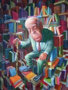borges_con_libros